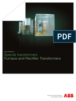 Furnace and Rectifier Transformers