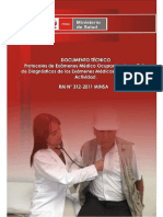 RM 312-2011 MINSA - Protocolos de Examenes Médico Ocupacionales y Guía de Diagnósticos de los Exámenes Médicos Obligatorios por Actividad.pdf