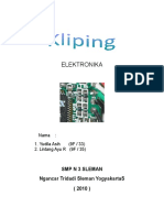 Komponen Komponen elektronika