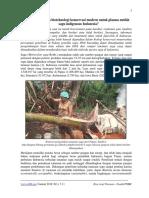 Perlukah sentuhan bioteknologi konservasi modern untuk plasma nutfah sagu indigenous Indonesia?