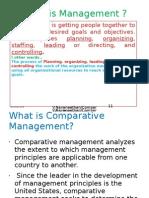 Comparative Management (1)
