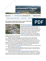 Pa Environment Digest March 26, 2018