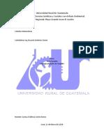 Universidad Rural de Guatemala Mate
