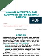 5. Sensor Aktuator Dan Komponen Sistem Kendali Lainnya