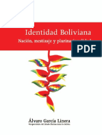 Álvaro García Linera - Identidad Boliviana - Nación, Mestizaje y Plurinacionalidad