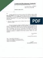 Prj9947temporary Occupancy Certificate