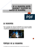 Tecnología de La Soldadura, Diseño de Uniones