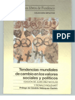 Lib. 1994-02 Tendencias Mundiales de Cambio en Los Valores Sociales y Politicos