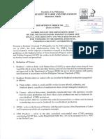 Dept Order No. 161-16 (1) SAWP Coconut