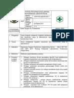 8.1.8 Ep 3 Sop Pelaporan Program Keselamatan Dan Keamanan Laboratorium