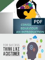 1. Consumer Behaviour Introduction