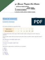 sintesis de 6° MATEMATICAS