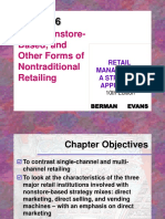 Web, Nonstore-Based, and Other Forms of Nontraditional Retailing