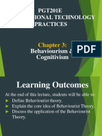 Chapter3 Behaviorism