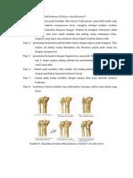 Klasifikasi Fraktur Tibial Plateau