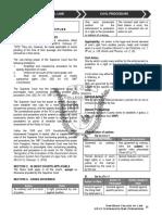 Memory Aid 03 Civil Procedure
