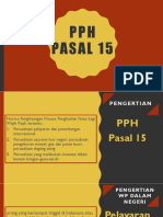 Ppt Pph Pasal 15