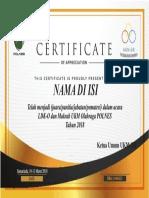 sertifikat LDK