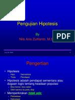 6. Pengujian Hipotesis