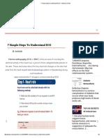 7 Simple Steps to Understand ECG - Medical-Online