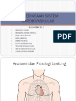 Pemeriksaan Cardiovascular