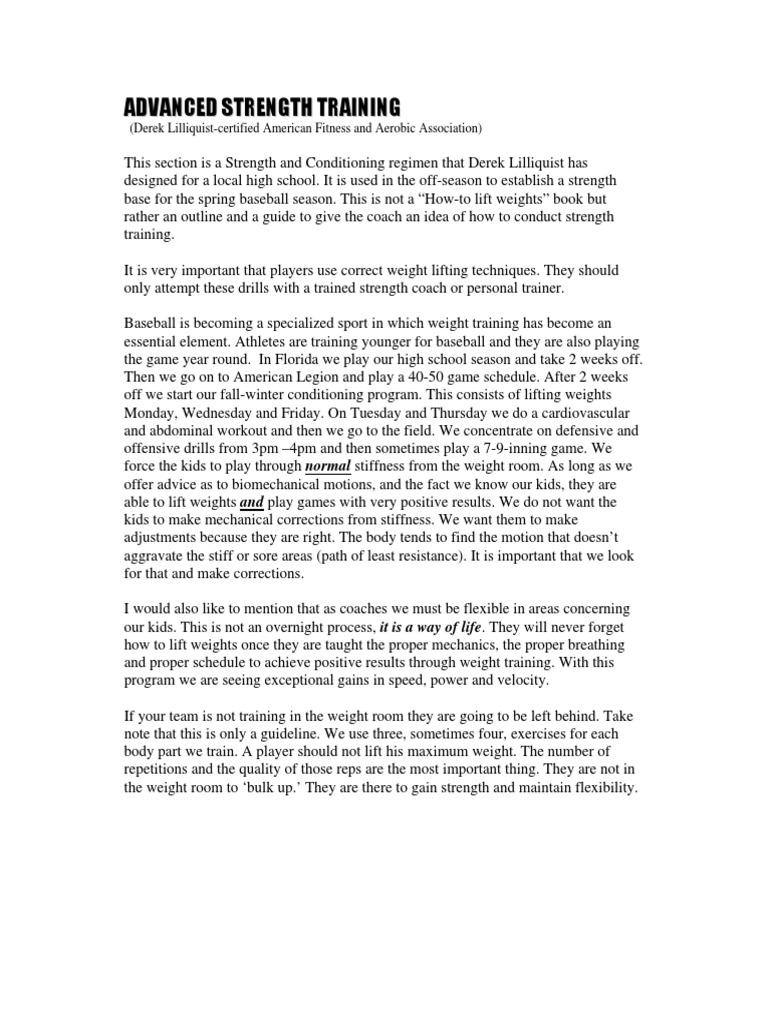 Derek Lilliquist - Advanced Strength Training | Weight Training