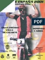 Open de España. Mountain Bike Caudete 2001