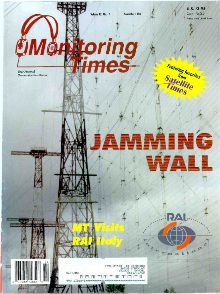 Monitoring Times 1998 11 Amateur Radio Elenco Snap Circuits Battery Eliminator Best Price In India As On 2016