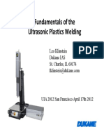 Fundamentals of the Ultrasonic Plastics Welding-klinstein