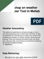 Workshop Spring'15 ( Matlab Tool )