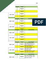 Jadwal Spv Bulan Juli 2016