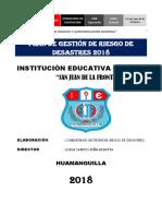 Plan Gestion Del Riesgo-san Juan de La Frontera