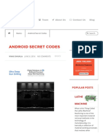 Your Android Phone's Secret Codes - You'Ll Be Amazed