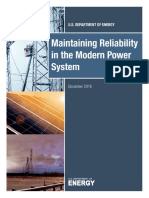 Maintaining Reliability in the Modern Power System