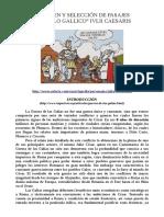 Resumen Fragmentos de Bello Gallico