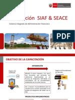 Integracion de Siaf y Seace 2016
