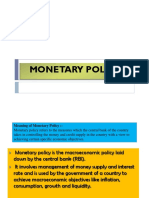 Monetary Policy (2)