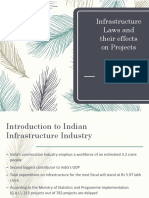 Infrastructure Laws and Their Effects on Projects
