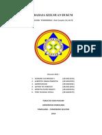 Bahasa Keilmuan Hukum - Kelompok 1 - Revisi 2