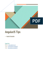 Angular Js Tips