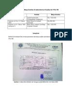 Parameter Dan Biaya Analisis Lab Air ITB