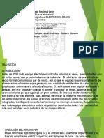 Presentación TRANSISTORES.pptx