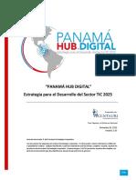 Estrategia Para El Desarrollo Del Sector Tic 2025 Panama Hub Digital