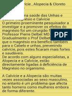Magnesio,Calvície,Alopecia