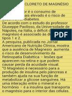 Magnesio,Diabetes