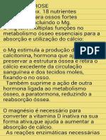 - Magnesio,Osteoporose