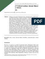"Williams, Simon J. 1999. ""Is Anybody There .pdf"