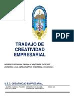 Trabajo Creatividad Empresarial Final
