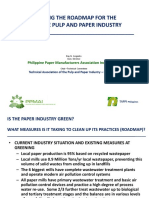Greening the Roadmap of the Philippine Pulp and Paper Industry