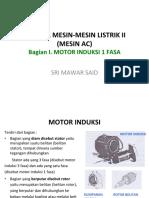 01 Motor Induksi 2018